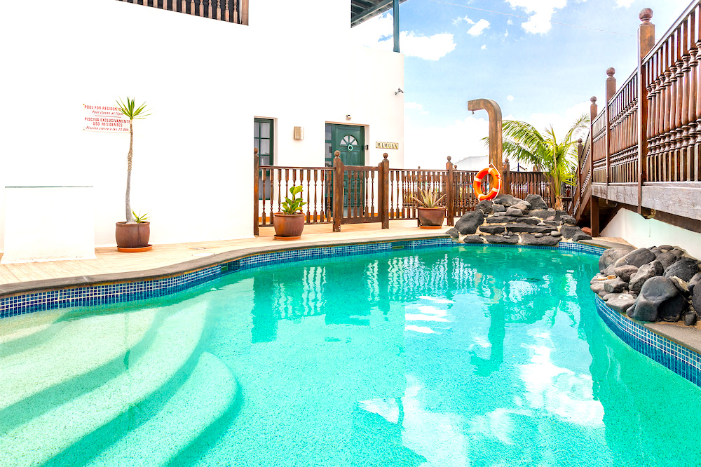 Casa Lila shared pool