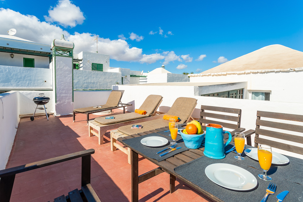 The Beach House roof terrace