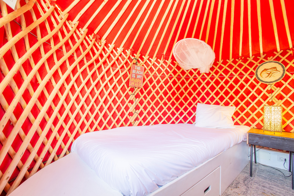 Second Yurt Bedroom