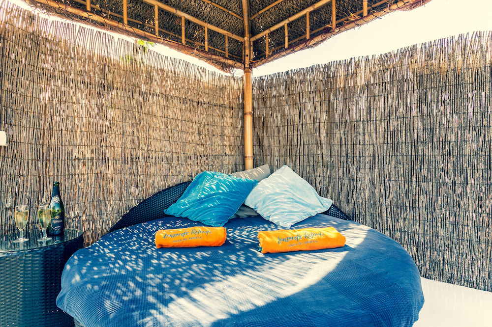 Eco Beach Yurt daybed