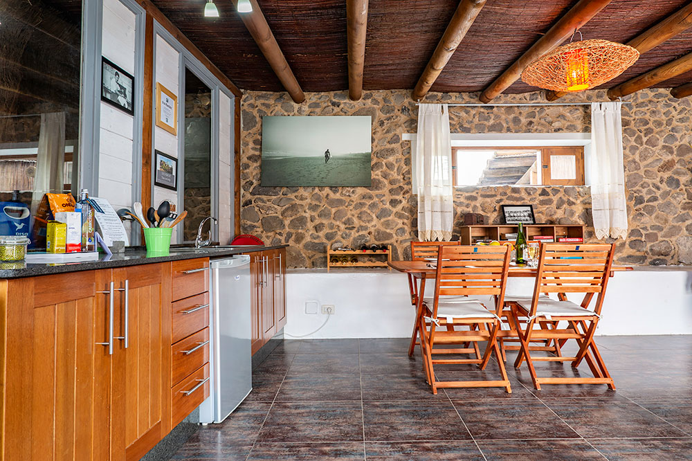 Eco Lodge Kitchen and Dining