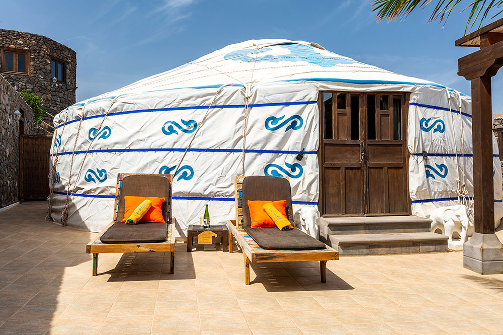 Massive 83m2 Eco Yurt Royale