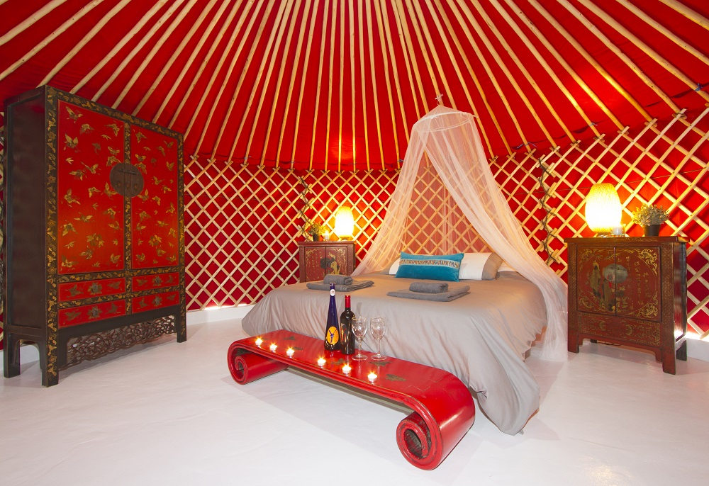 Eco Beach Yurt 5mt pod
