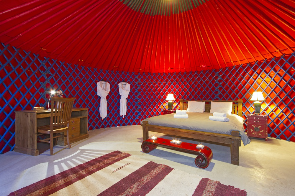 Eco Beach Yurt 6mt pod