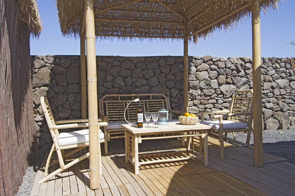Eco Beach Yurt chill out