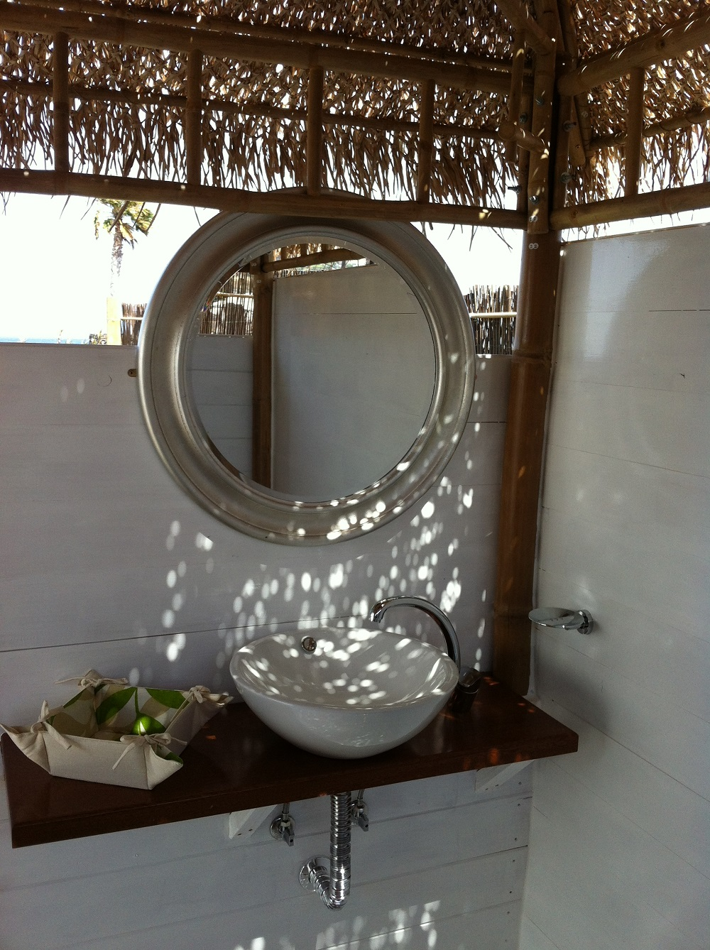 Eco Palm Yurt Wash basin