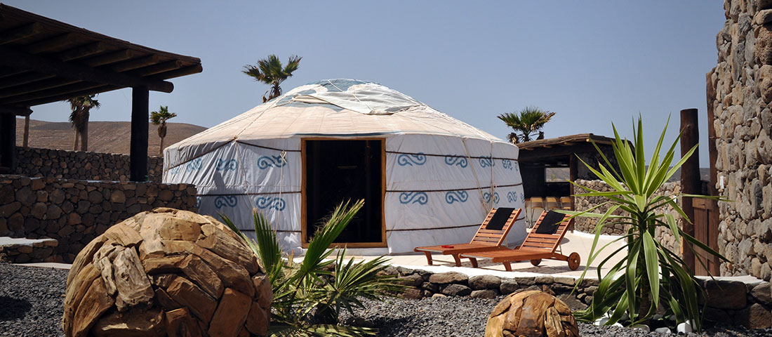 Eco Luxury Yurt Suite