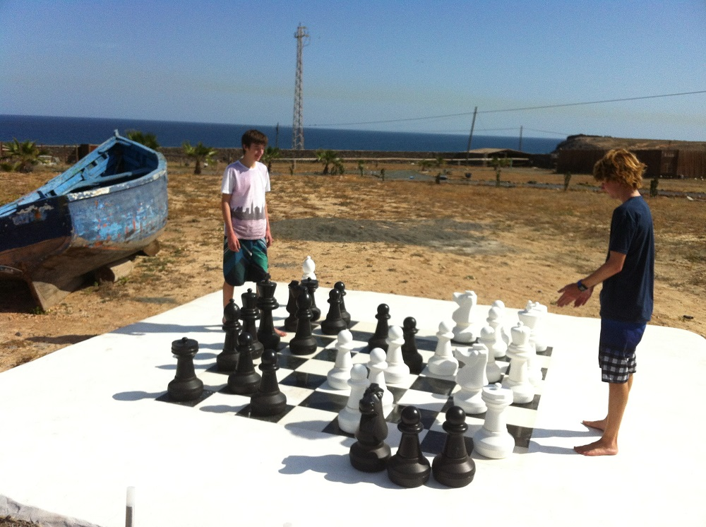 Giant Chess Set Finca De Arrieta