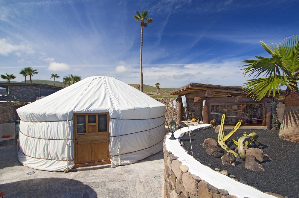 Eco Twin Yurt large yurt