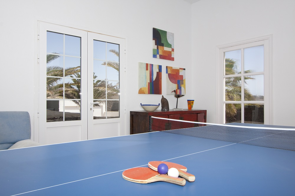 Villa Las Palmitas table tennis