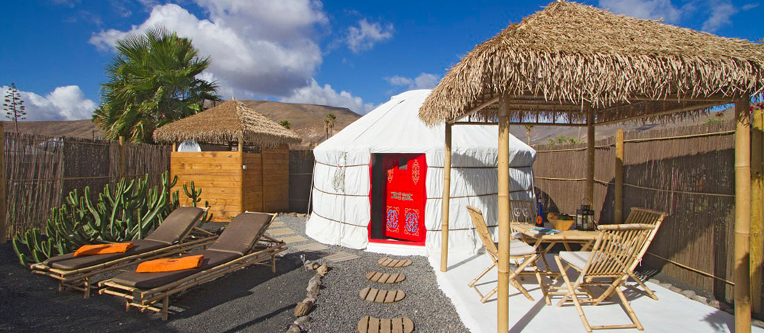 Eco Palm Yurt