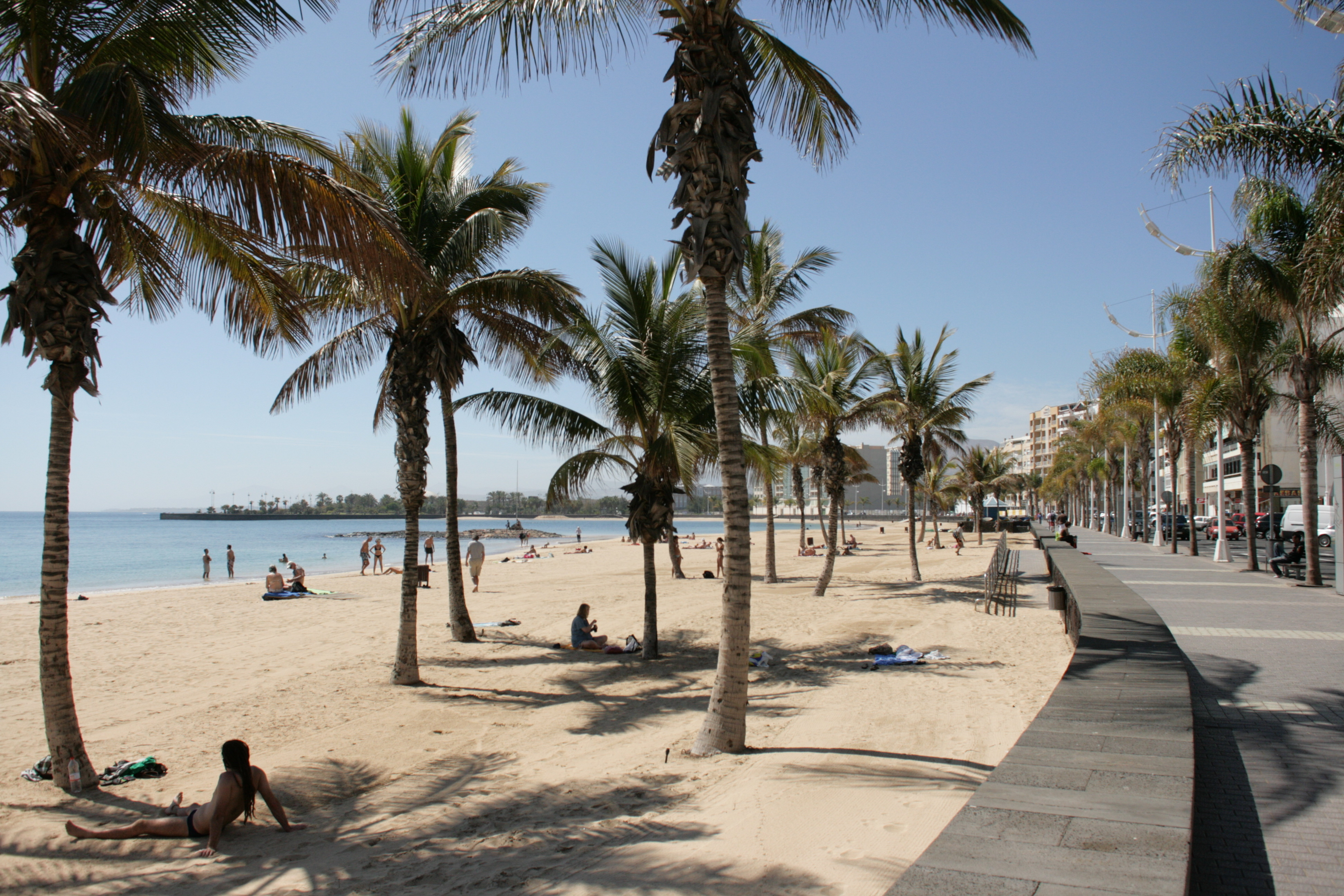 Playa Reducto Beach, Arrecife