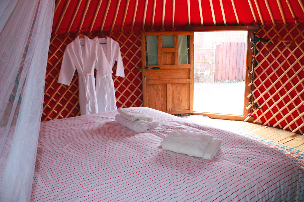 Eco Chico Yurt Interior