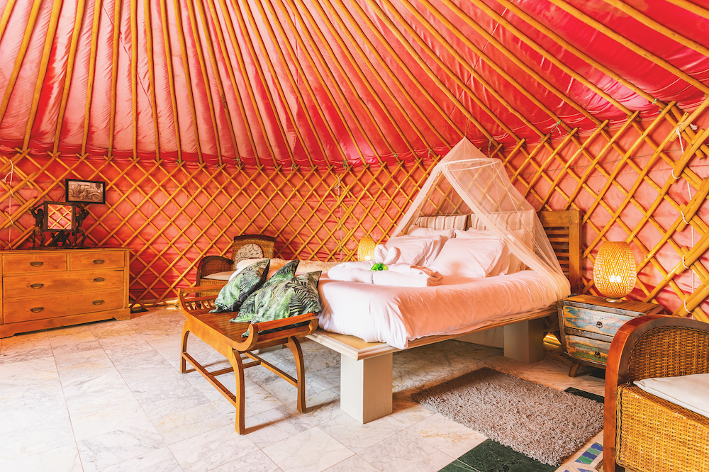 Eco Yurt Interior