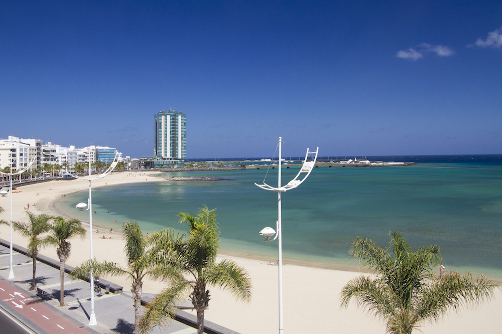 Arrecife Sands view