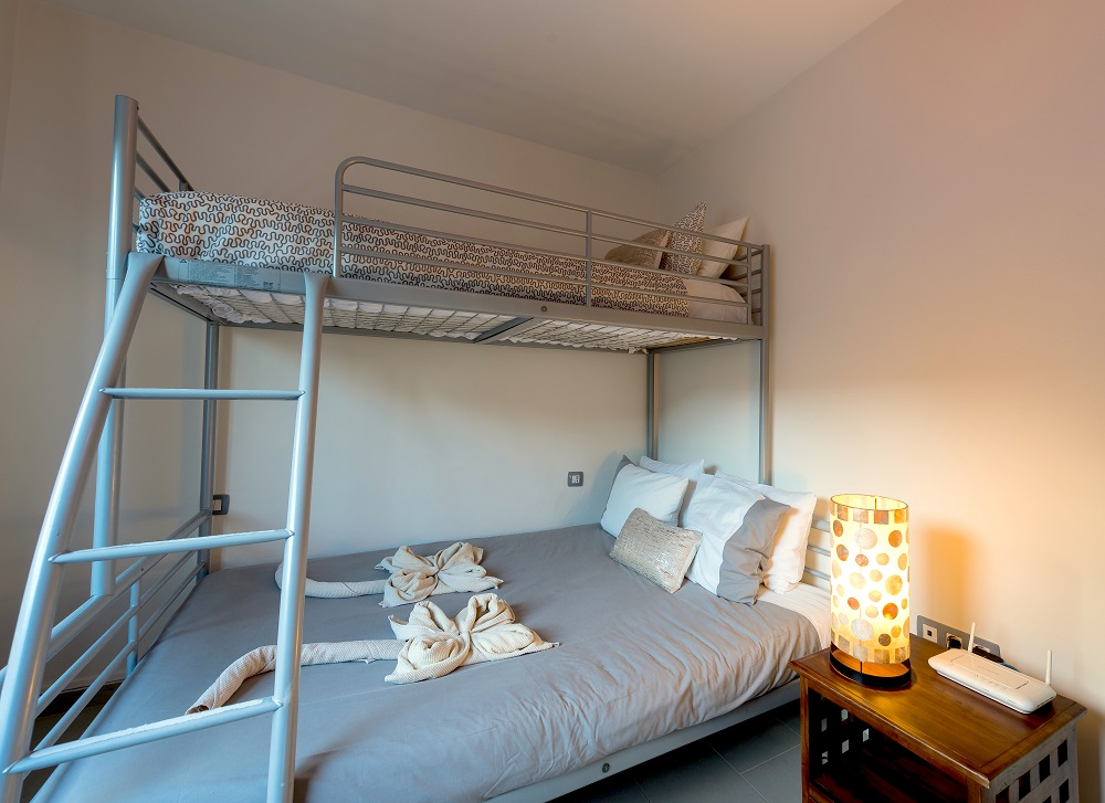 Bunk bed room, Casa Volcan, Lanzarote