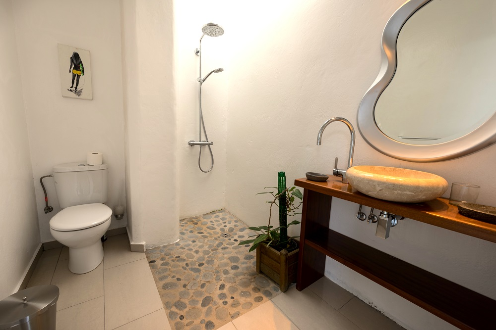 Shower room, Casa Volcan, Lanzarote