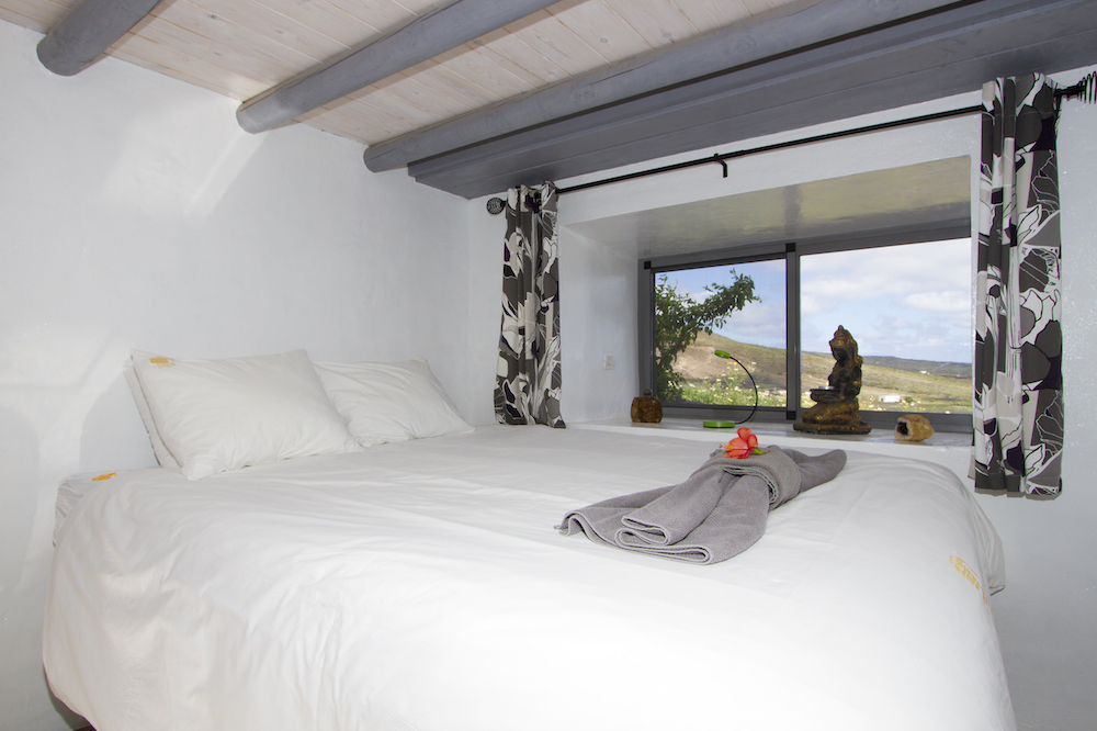 Sub Terrain Bedroom with Sea Views