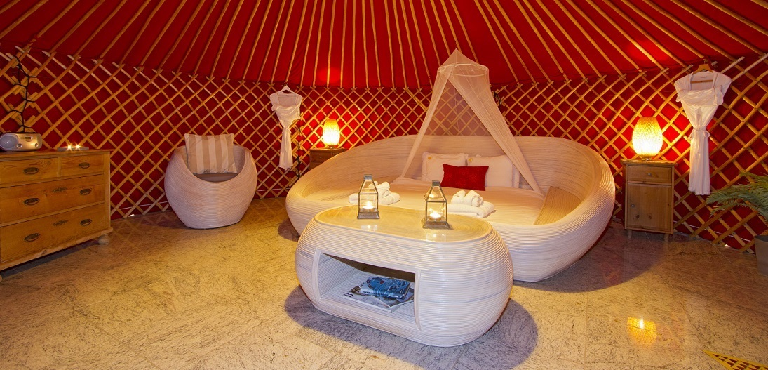 Eco Twin Yurt