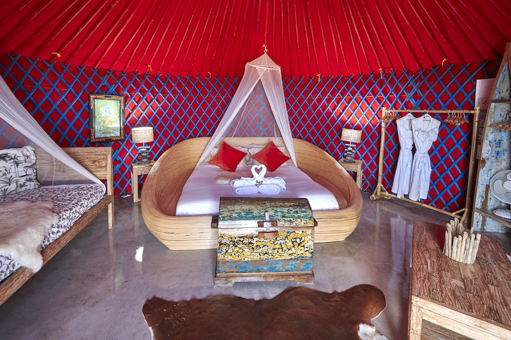 Palacio Yurt bedroom