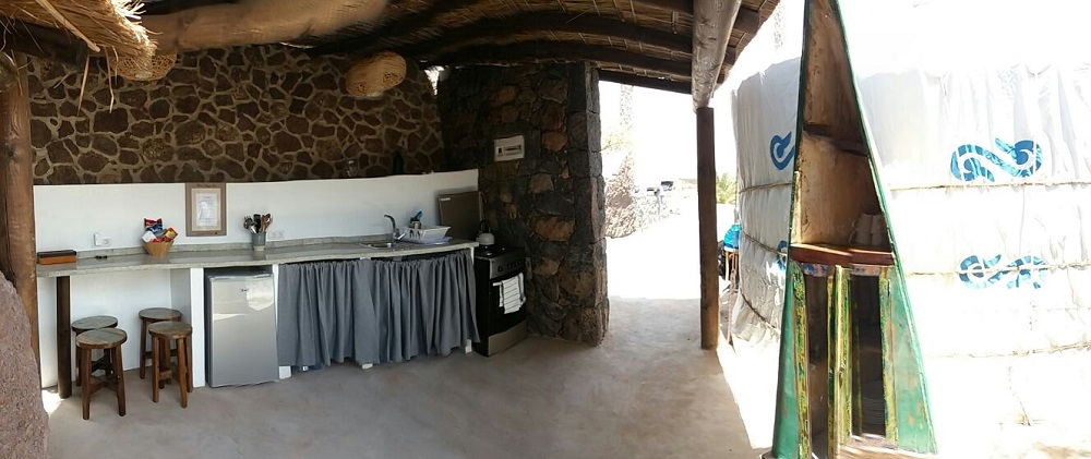 Palacio Yurt Kitchen