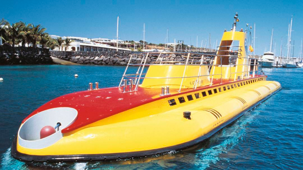 Yellow Safari Submarine Lanzarote