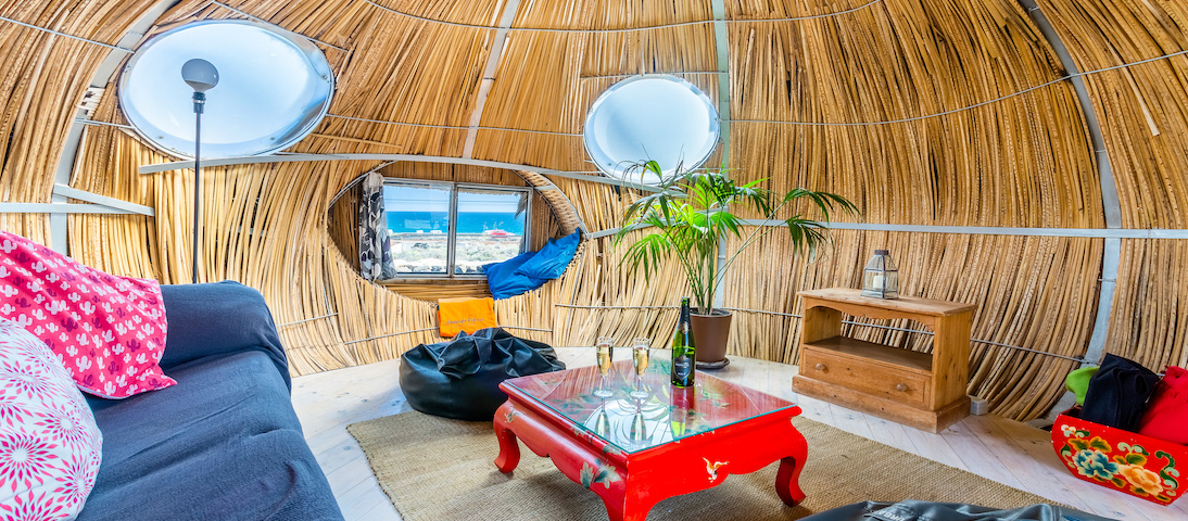 Eco Beach Yurt Pod 1